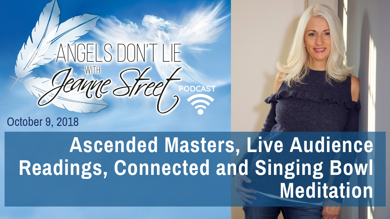 Ascended Masters, Live Audience Readings, Connected and